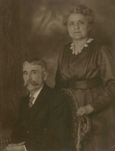 Permilia (Millie) Mae Johnson and William Downs Coleman